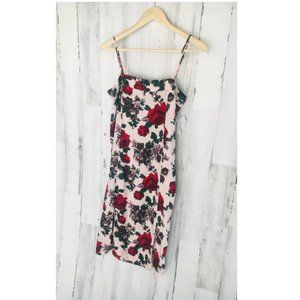 EQUIPMENT FEMME Kelby Silk Floral SIlk Slip Dress